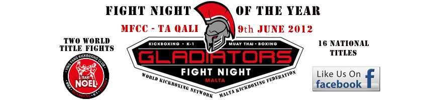 Gladiators Fight Night Malta